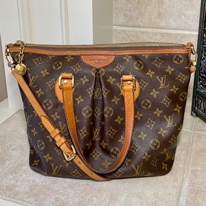 Authentic Louis Vuitton Monogram Palermo PM